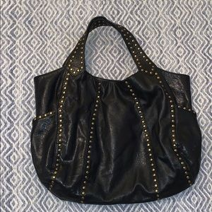 Kooba Lucy Leather Studded Bag